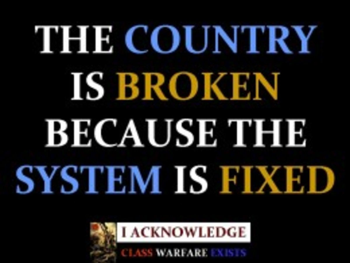 The Story Of South Africa Today is that of a Broken System And Country