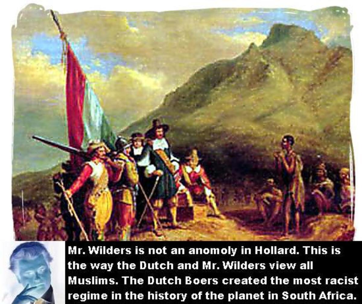 Jan Van Riebeeck with the Khoi/San 1652