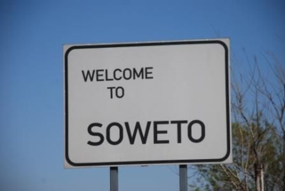 Welcome to Soweto Sign in Soweto, South Africa