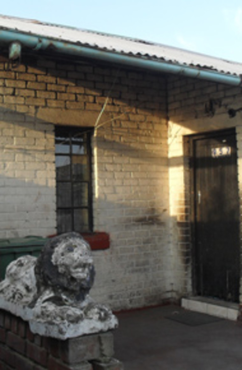 Part of Mpanza's house in 957 Phinyela Street in Orlando East. His family only got their Title Deed in 2010