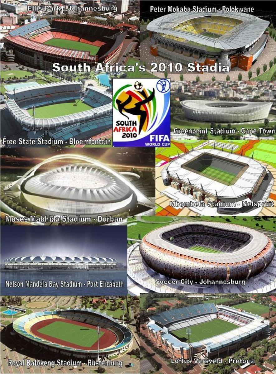 South Africa's 2010 World Cup Stadiums