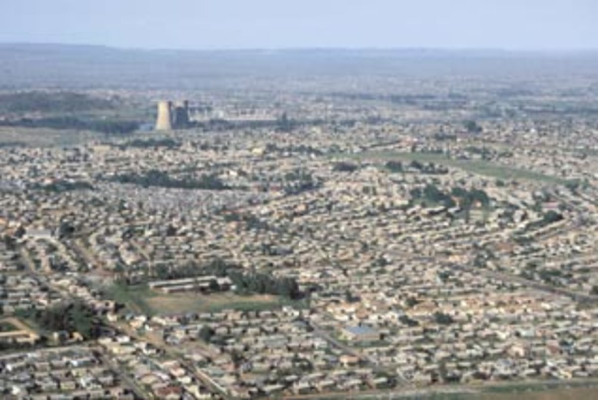 Part of Soweto's Sprawl