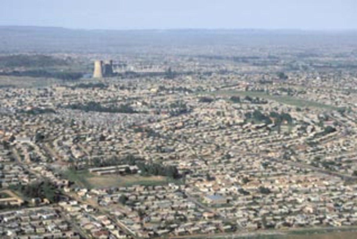 Part of Soweto's Sprawl