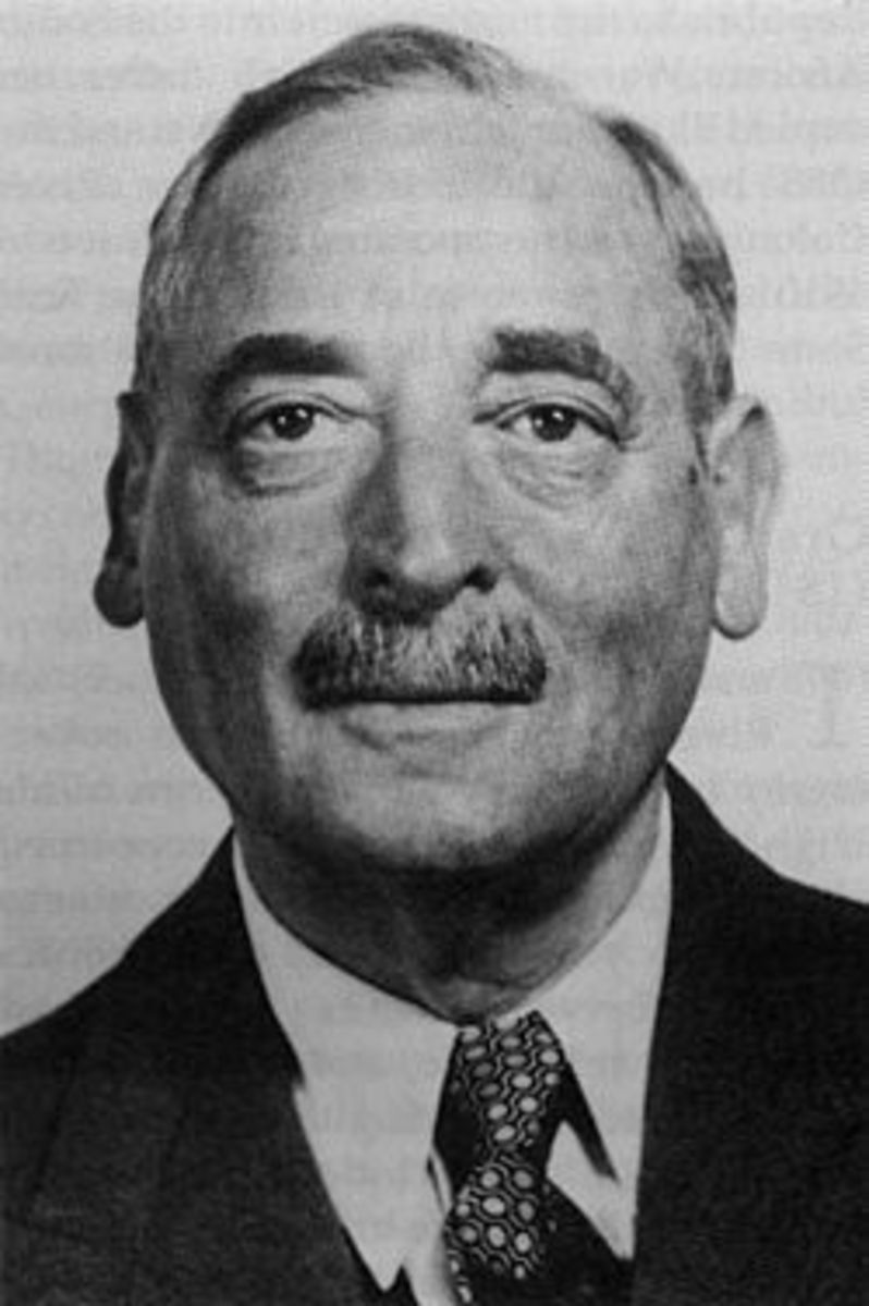Ernest Oppenheimer who donated R6-million to help start build what is today known as SOWETO, because the Apartheid government would not do it and was hoping the squatters would 'melt away' into their Apartheid designated Homelands...