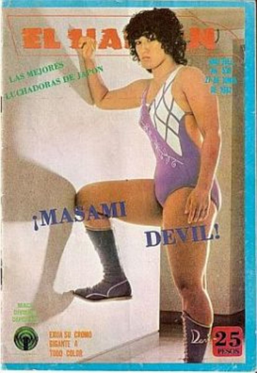 Devil Masami - Japanese Female Wrestling