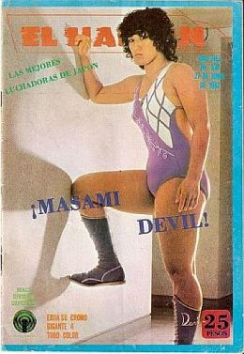 Devil Masami - Japanese Female Wrestling