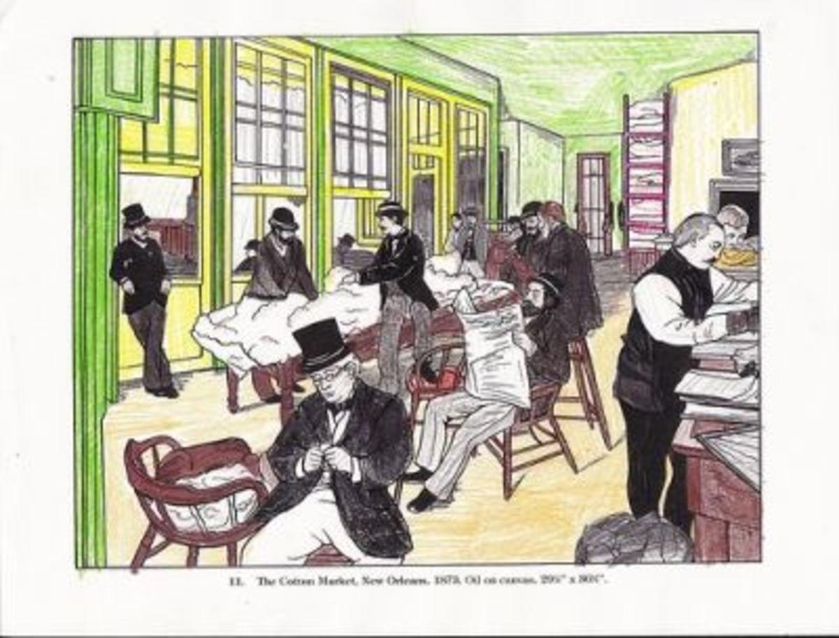 Art Appreciation Follow-Up Activity (Degas Coloring Book)