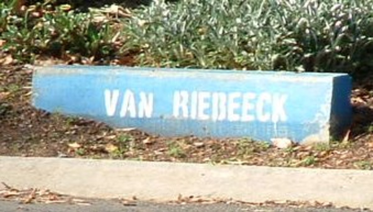 Van Riebeeck Avenue. Named after Jan van Riebeeck, Dutch colonial administrator and founder of Cape Town.