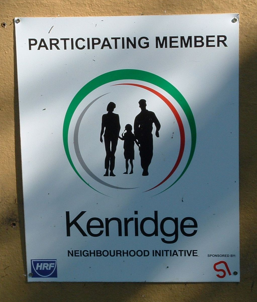 KNI sign. It stands for Kenridge Neighbourhood Initiative.