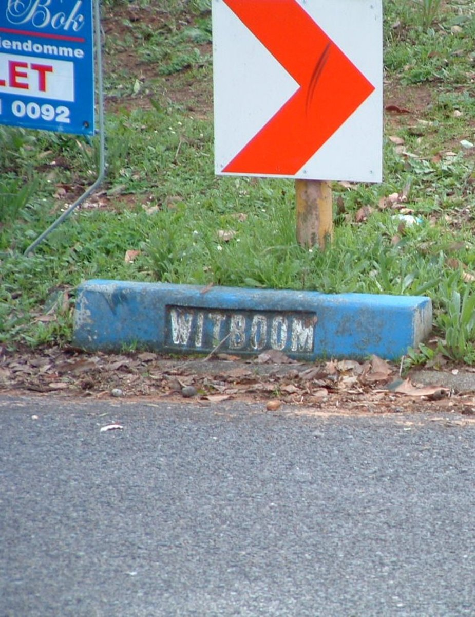 This is Witboom Road.