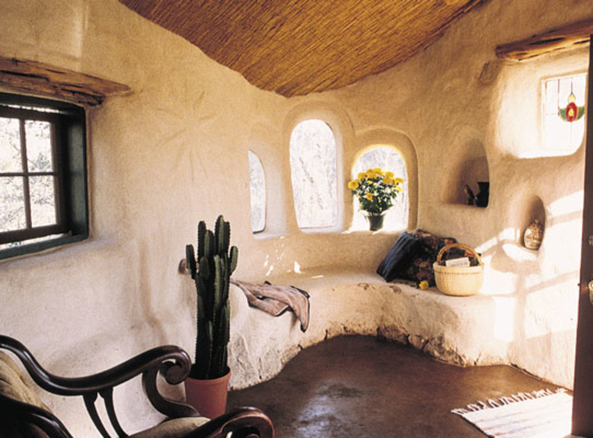 Building an eco home with cob hubpages - Modern cob and adobe houses ...