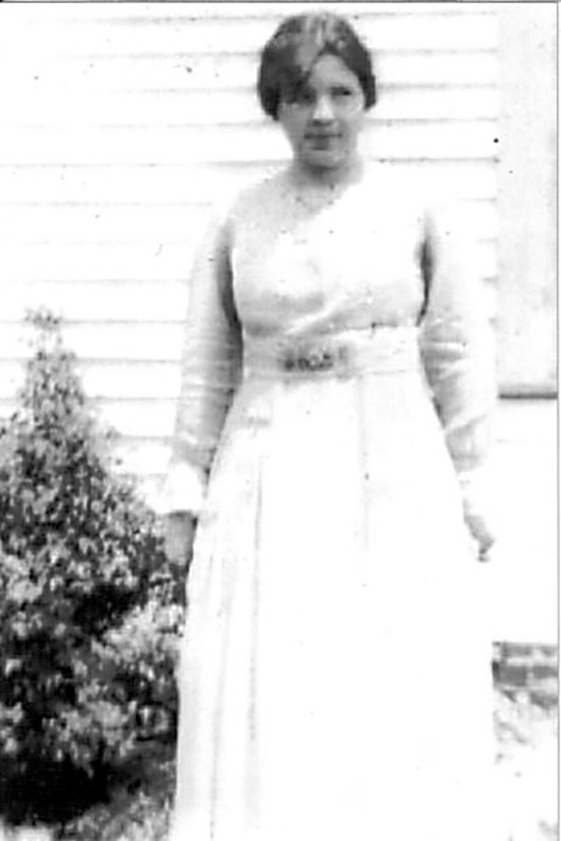 Ruth Vining, my grandmother.