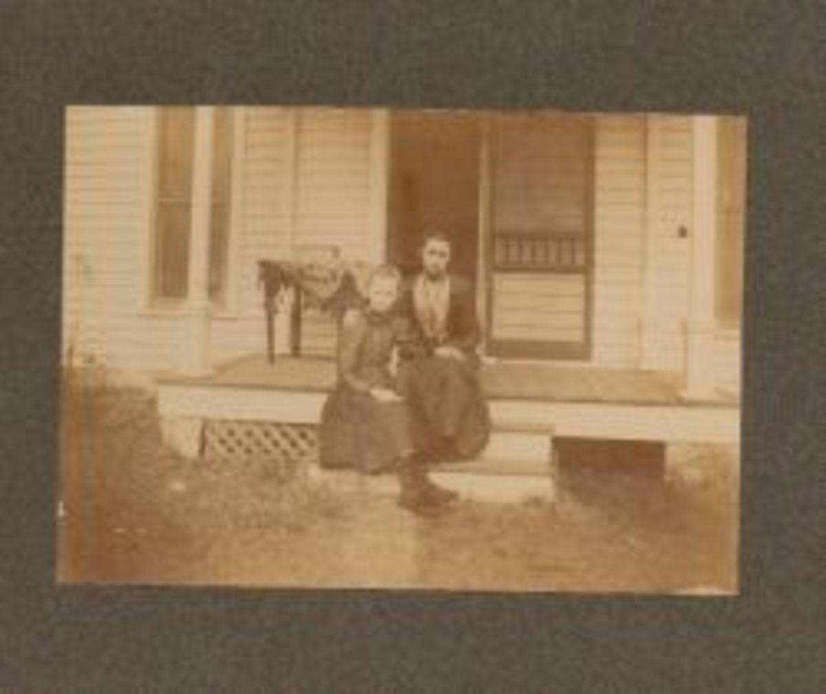 tHattie Musselman in Tyro, Kansas