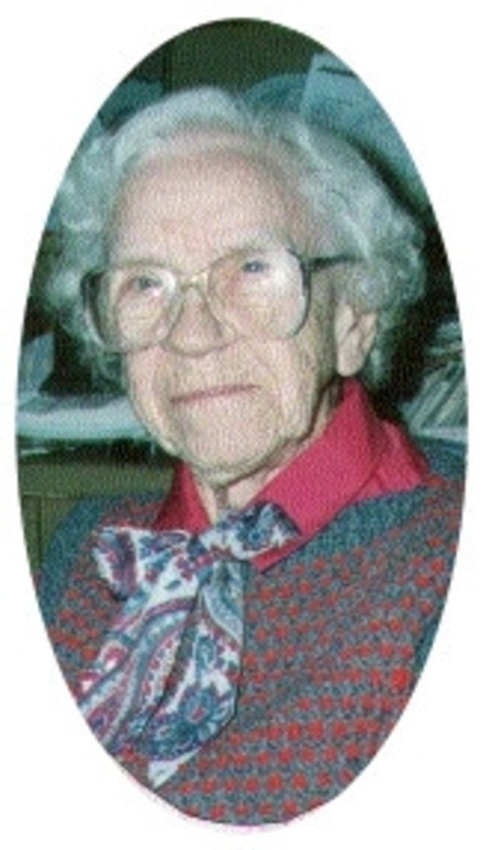 Bertha McGhee, daughter of Sam McGhee