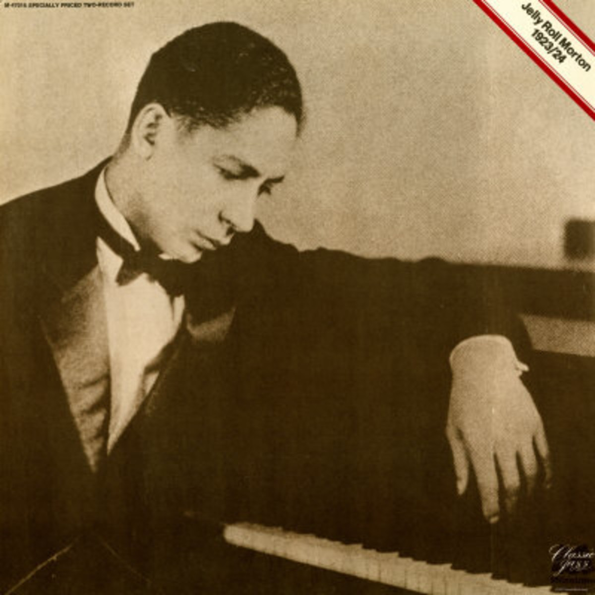 Jelly Roll Morton singlehandedly delivered solo piano performances with such textural variety, contrapuntal melody, and an incredible rhythmic drive and swing. He also combined classical, ragtime, blues and Caribbean influences, and was a composer an