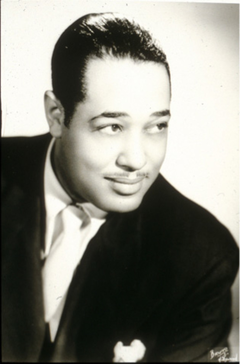Duke Ellington sought out musicicins who could contribute distnctively to his band. His music is defined by muted brass instruments, and high wailing clarinet; distinctive harmonies; his unique piano playing and an unusual combinations of instruments
