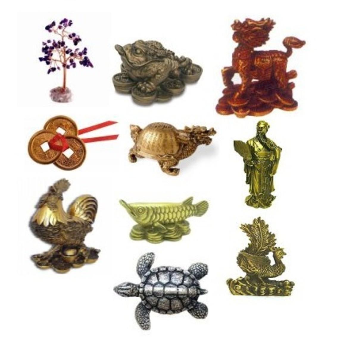 Twelve Feng Shui Symbols for enhancing Career Luck