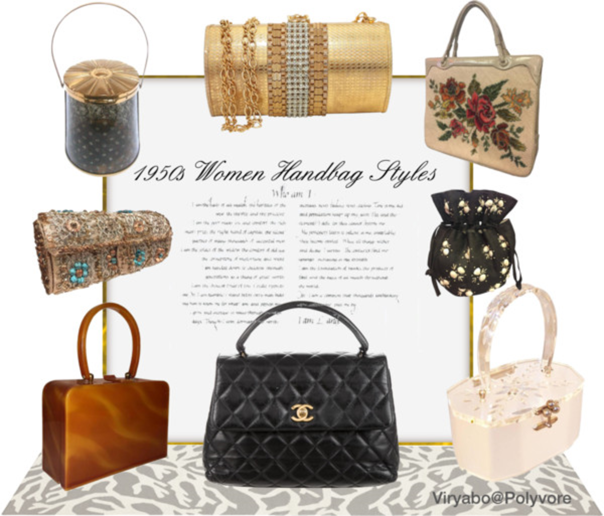 bbefa9daa2ef Many of the 50s ladies  bag designs have been reproduced today and still  look as