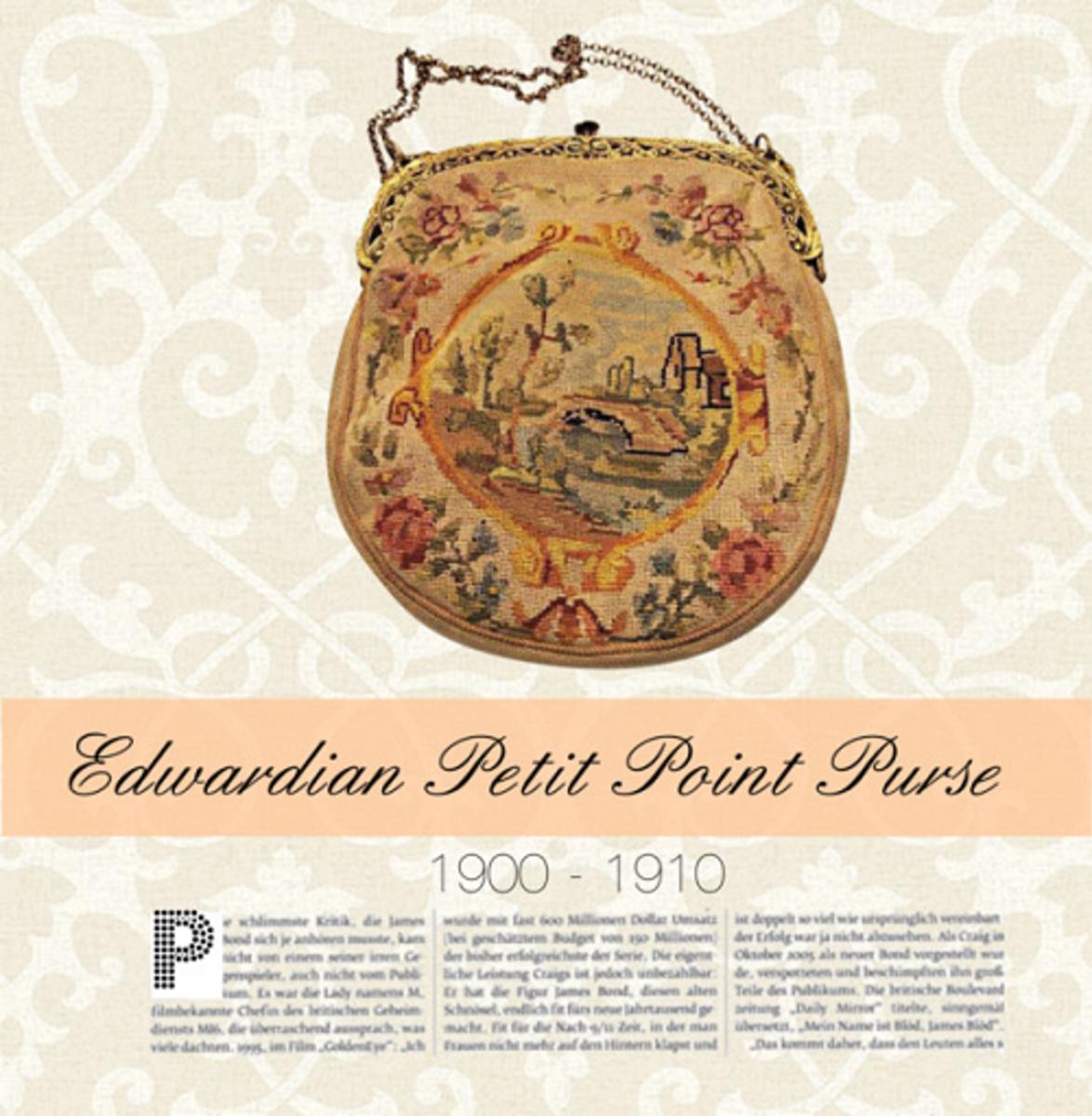 Petit Point Edwardian Women's Bag