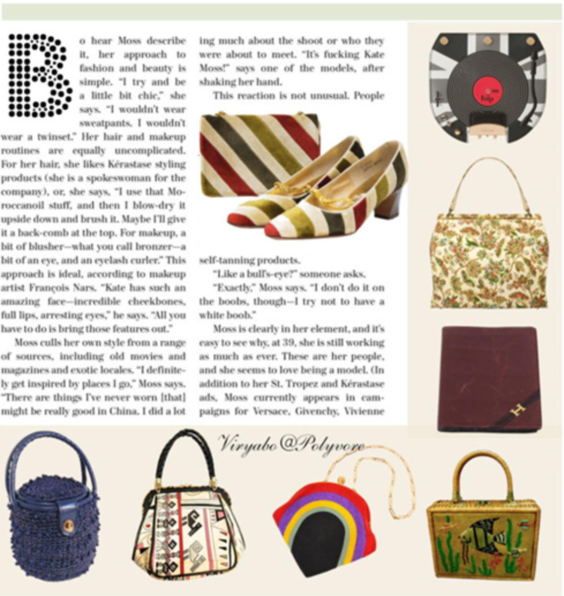 Vintage handbags of the swinging sixties. This was an era when personal freedom was the new movement. Handbags was no longer branded fashion appendage, but rather became a matter of personal choice among fashionable women.