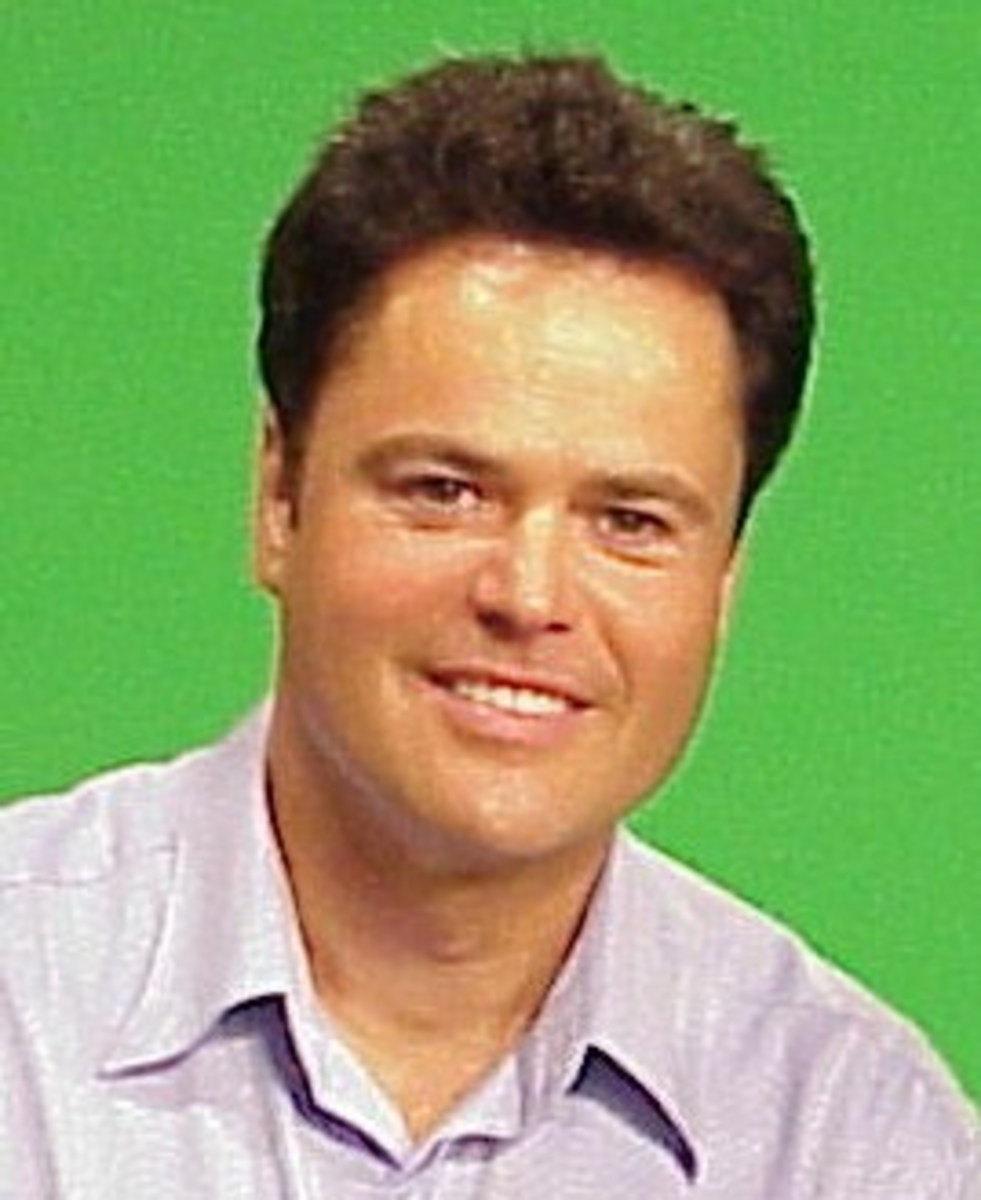 Donny Osmond (Photo credit: Wikimedia Commons)