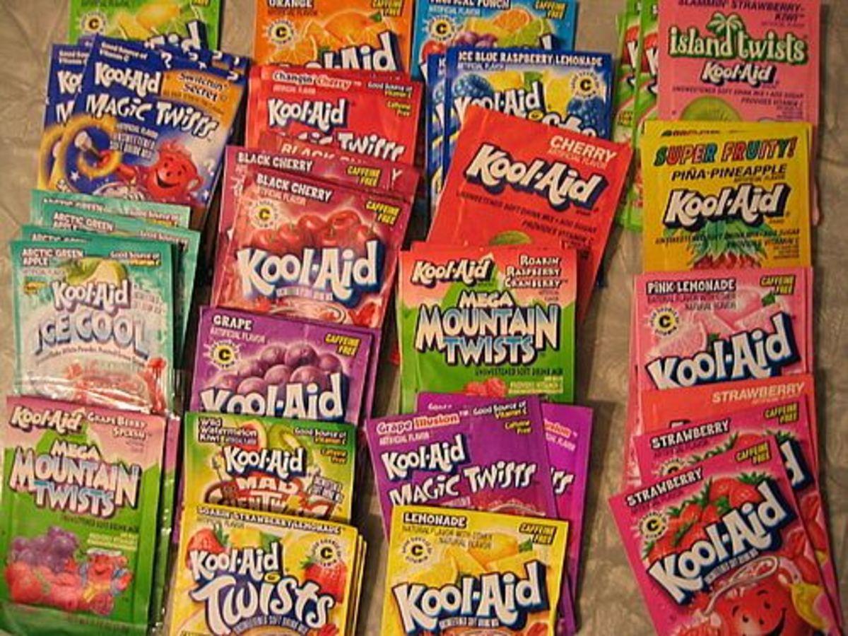 Kool-Aid Flavors