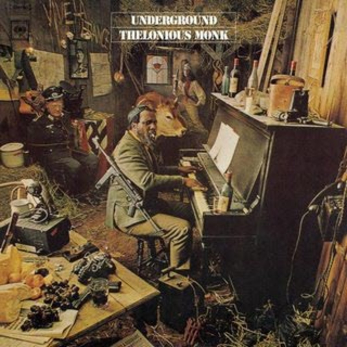 Thelonious Monk's music in this album revels in the angular and odd meters.