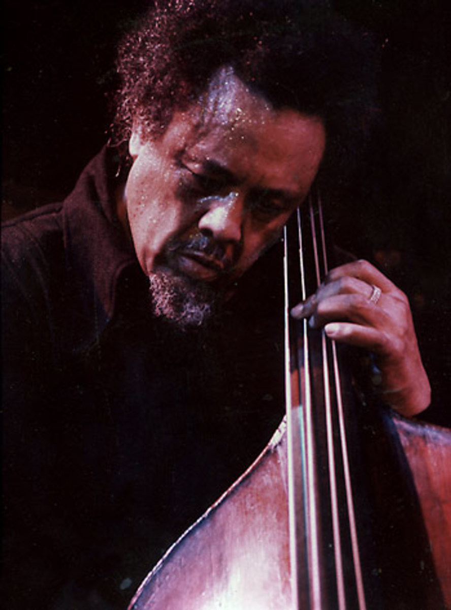 Charles Mingus and his innovations have set standards for the current Avant-garde scene and was known for his towering forceful presence, virtuoso bass playing and intimidating rants at the audience; he would in no way tolerate an unfocused audience