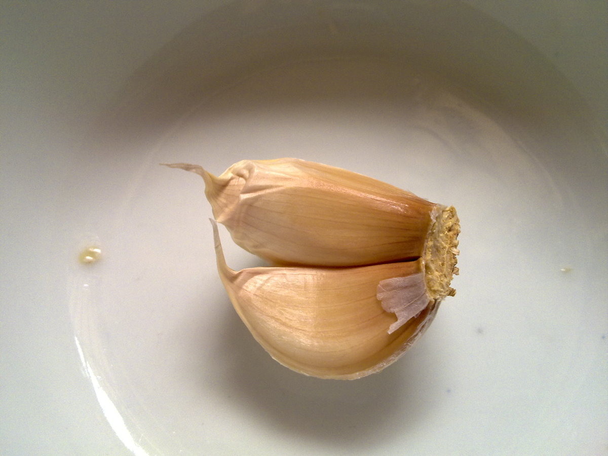 I love using garlic in my cooking and to cure flu sickness