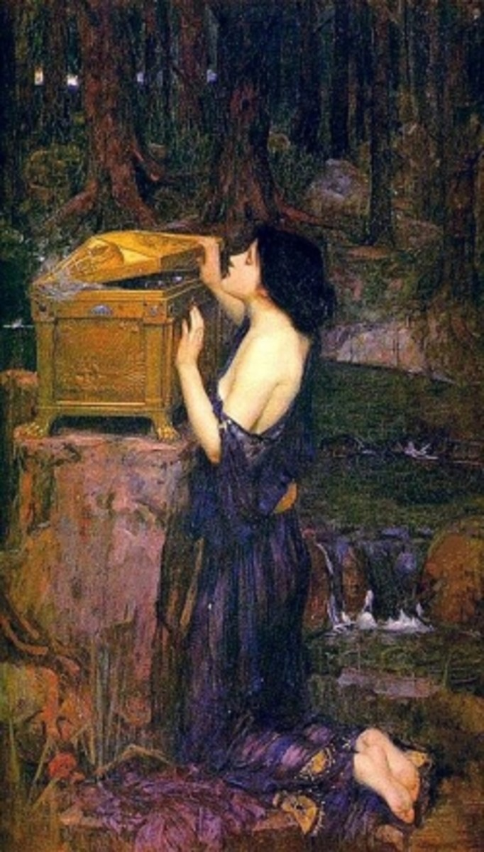 Pandora by John Waterhouse