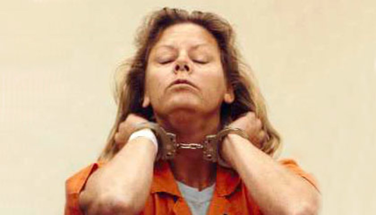Post your comments below about Aileen Wuornos.