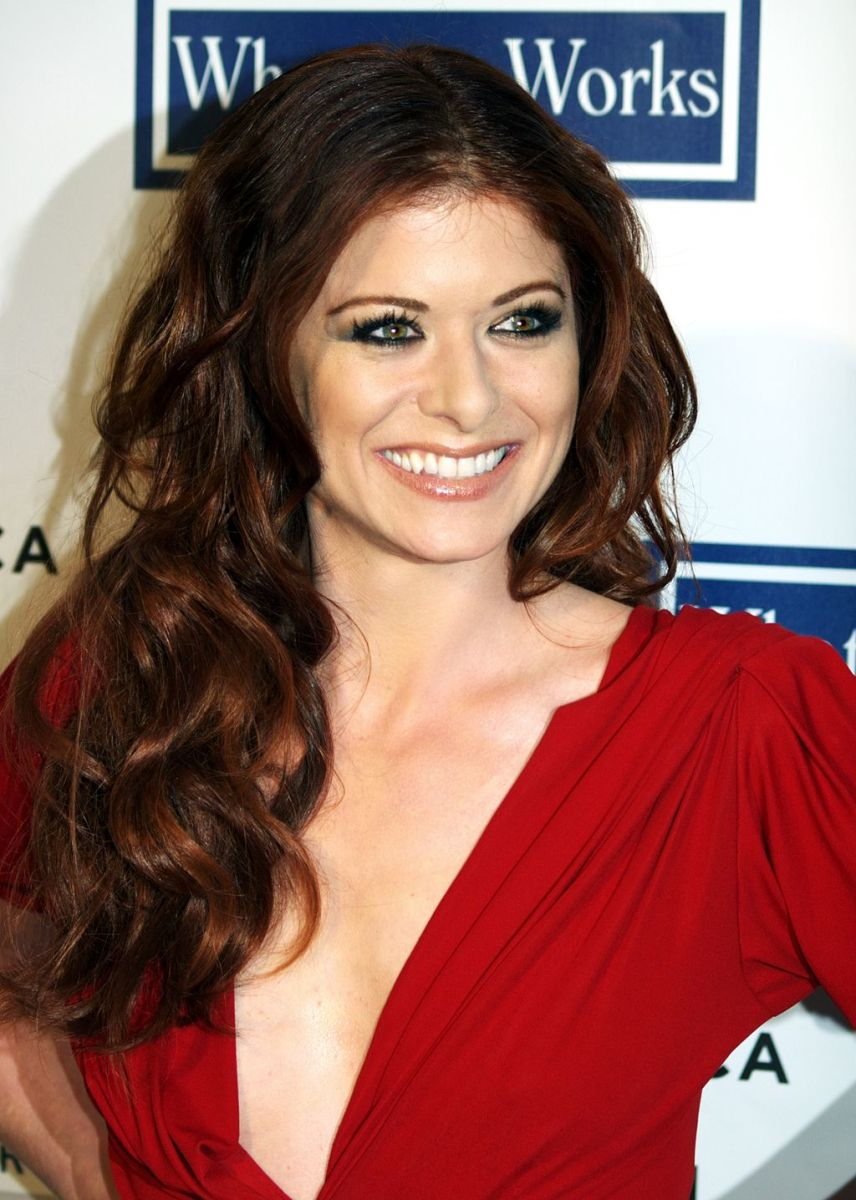 Debra Messing at the 2009 Tribeca Film Festival premiere of Woody Allen's Whatever Works.