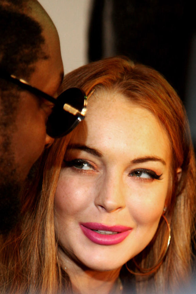 Lindsay Lohan attending will.i.am's Album Release Party in Hollywood, CA on August 14, 2012.