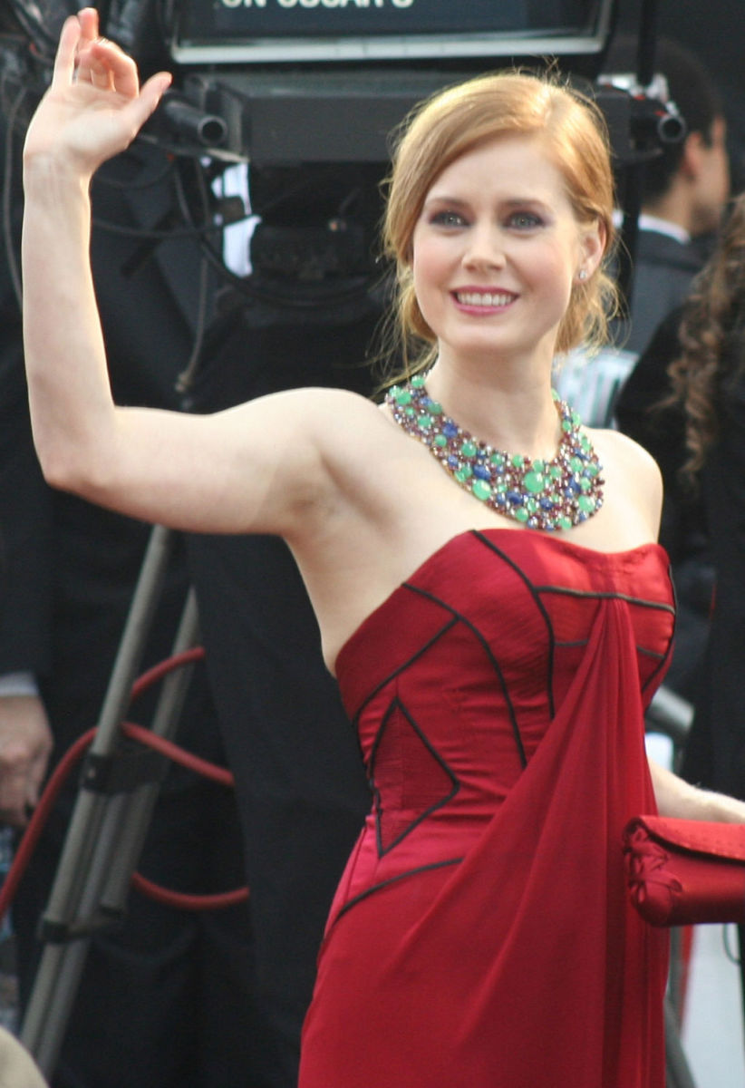 Amy Adams at the 81st Academy Awards.