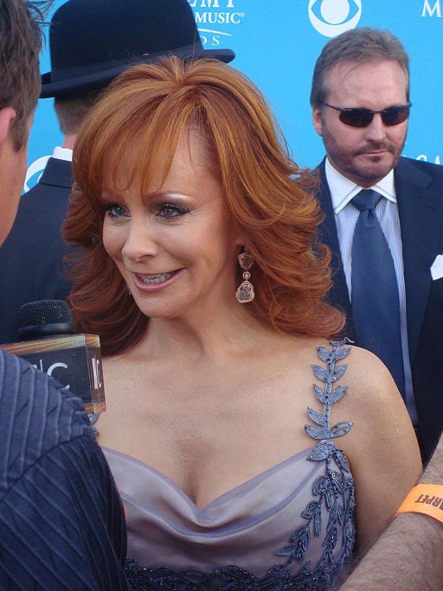Reba McEntire at the 45th Annual Academy of Country Music Awards.