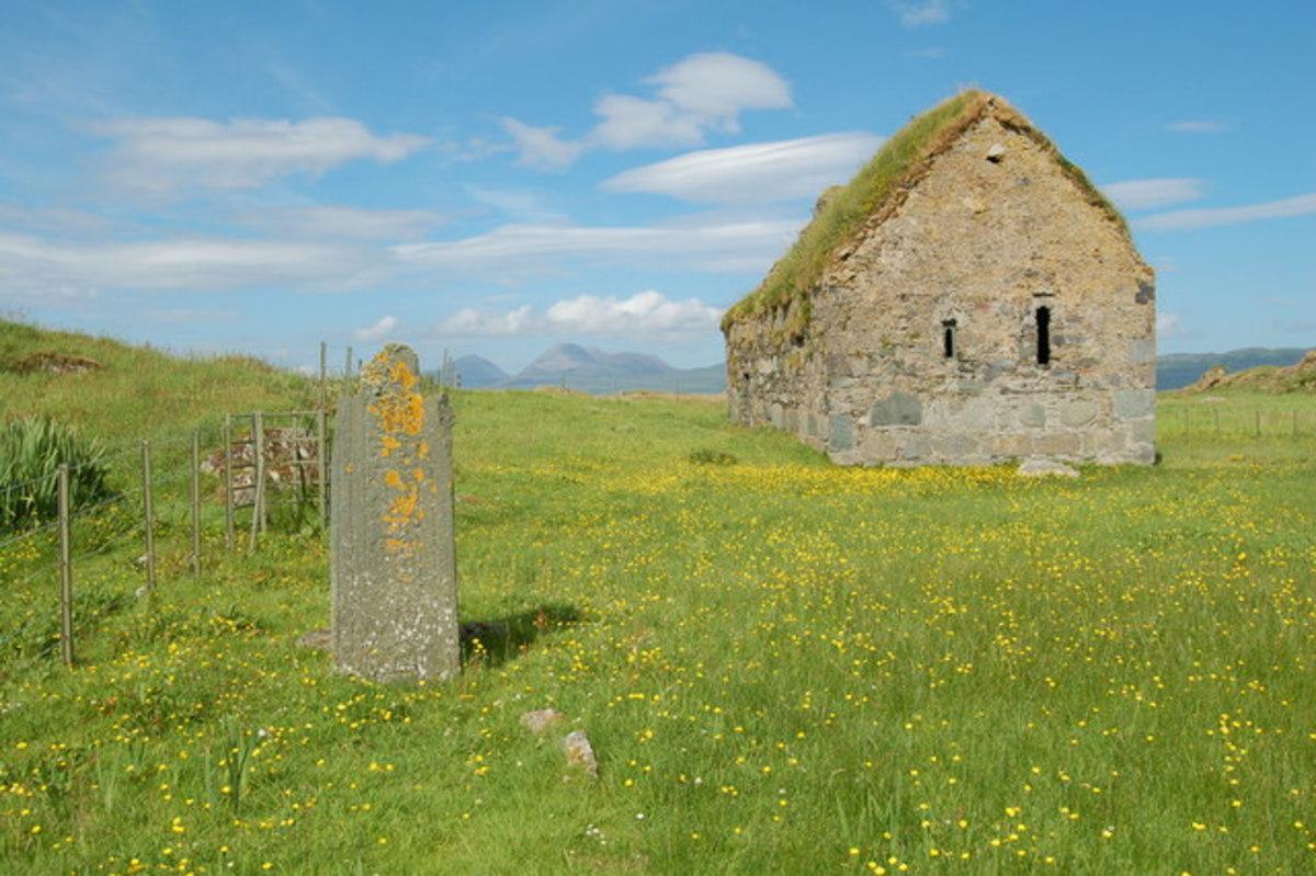 Eilean Mor Chapel (http://commons.wikimedia.org/wiki/File:Eilean_Mor_Chapel.jpg)