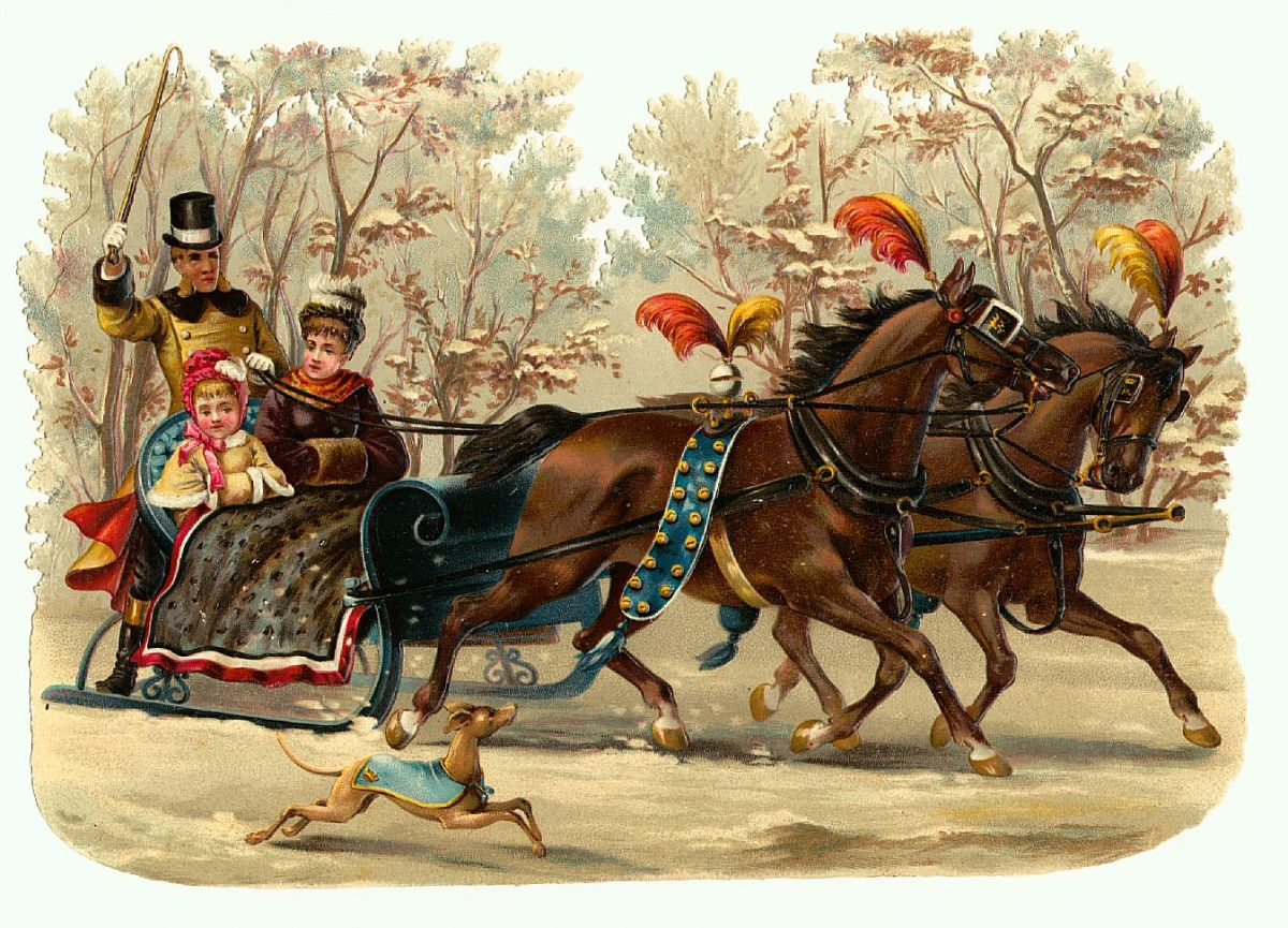 winter-snow-victorian-christmas-cards