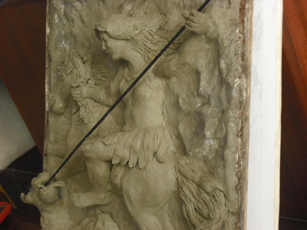 clay-bas-relief