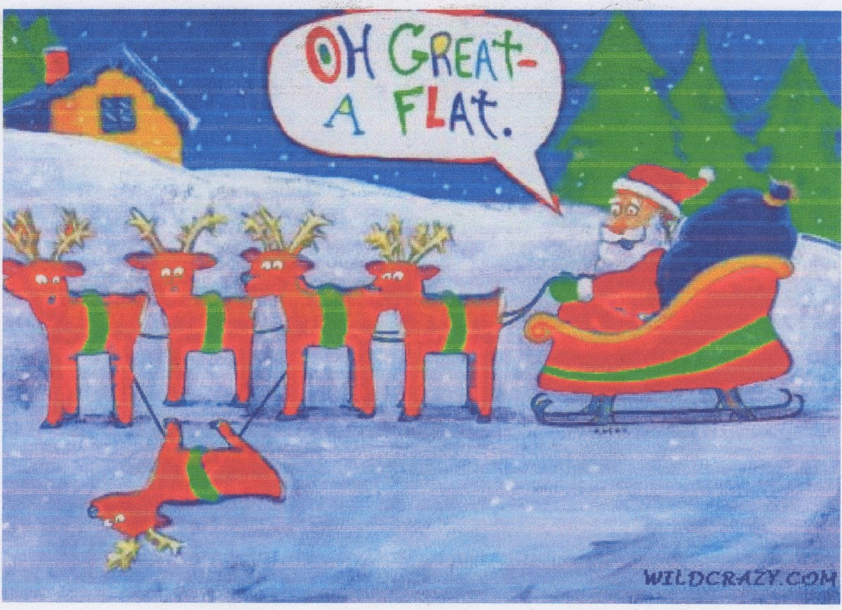 See Santa facts below