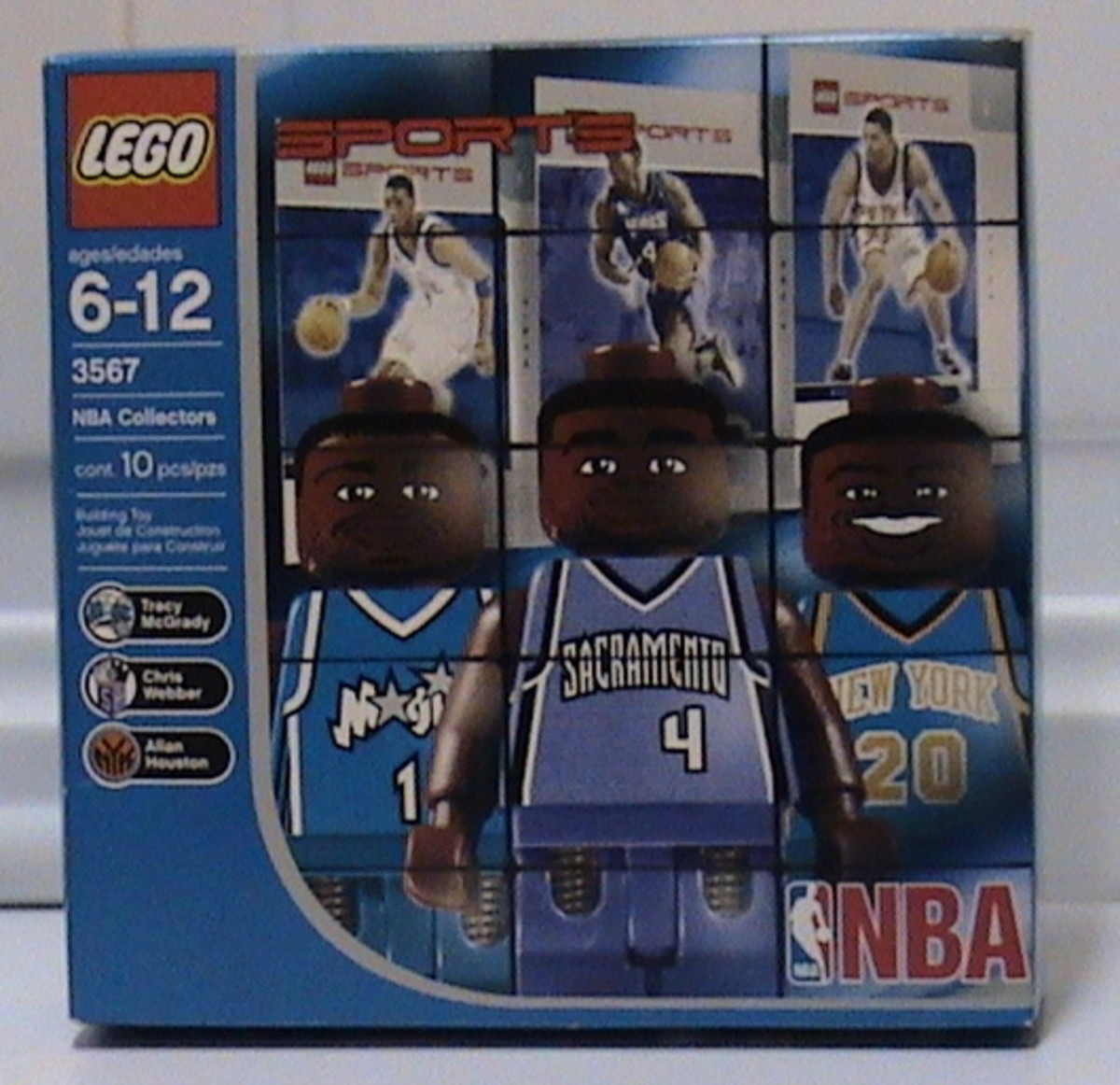 NBA Collector Set #8 in its box