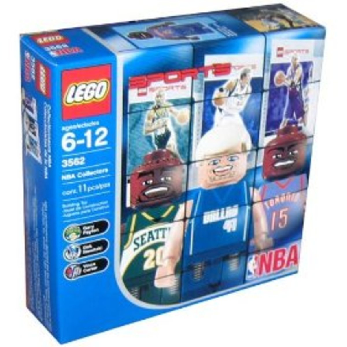 Lego NBA Collectors Set #3 in its box