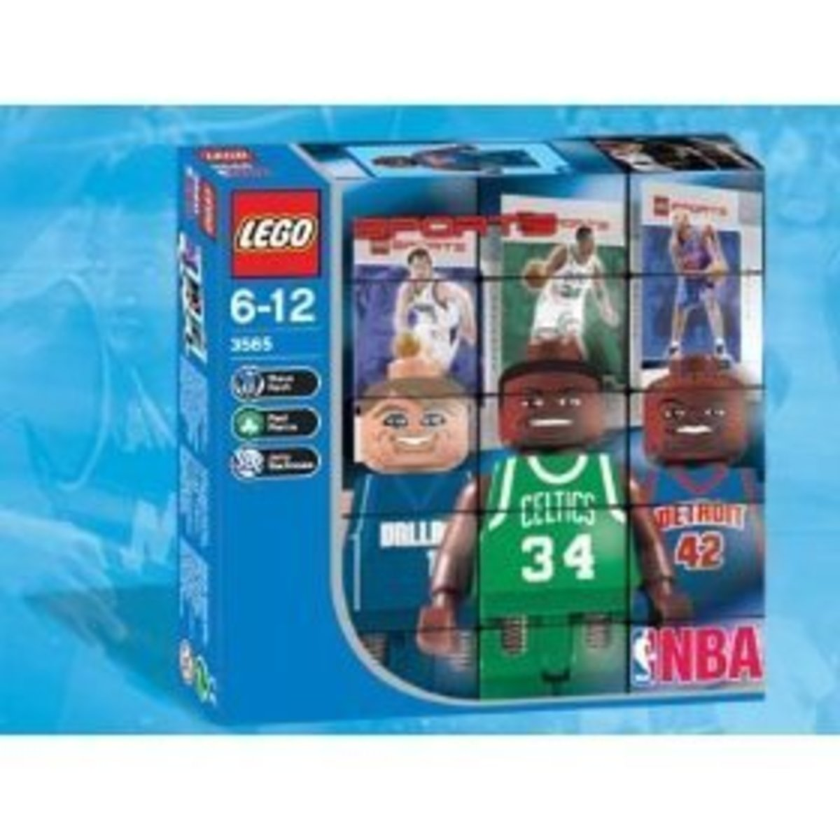 Lego NBA Collector Set #6 in its box