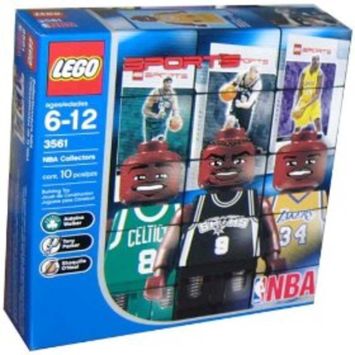 Lego NBA Collector Set #2 in its box