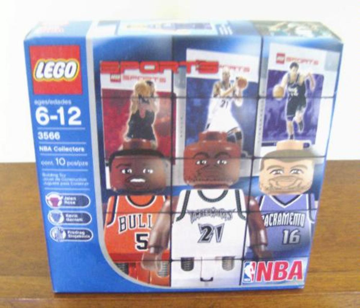 Lego NBA Collector Set #7 on its box