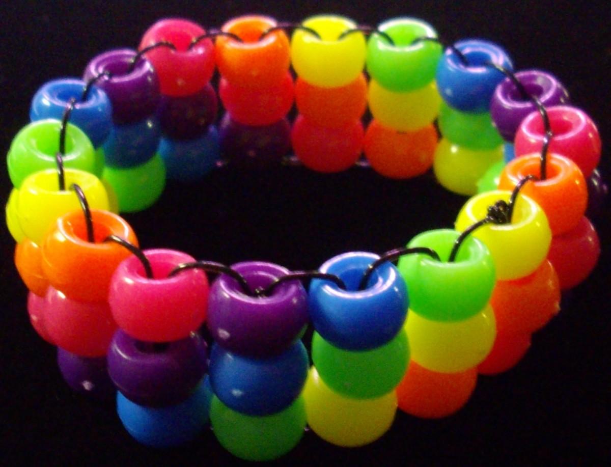 Rainbow Triple Cuff