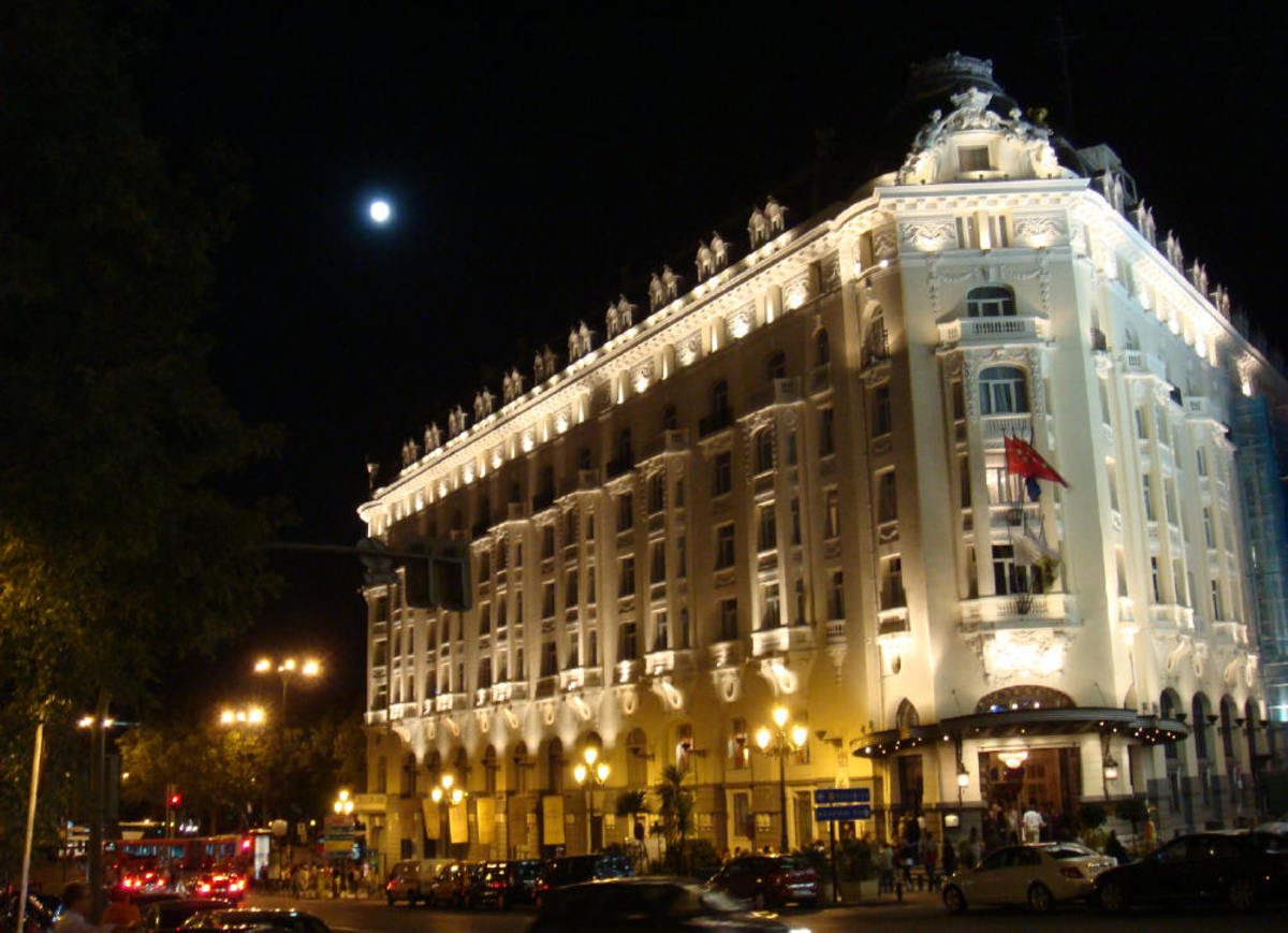 Madrid: The Palace and The Ritz