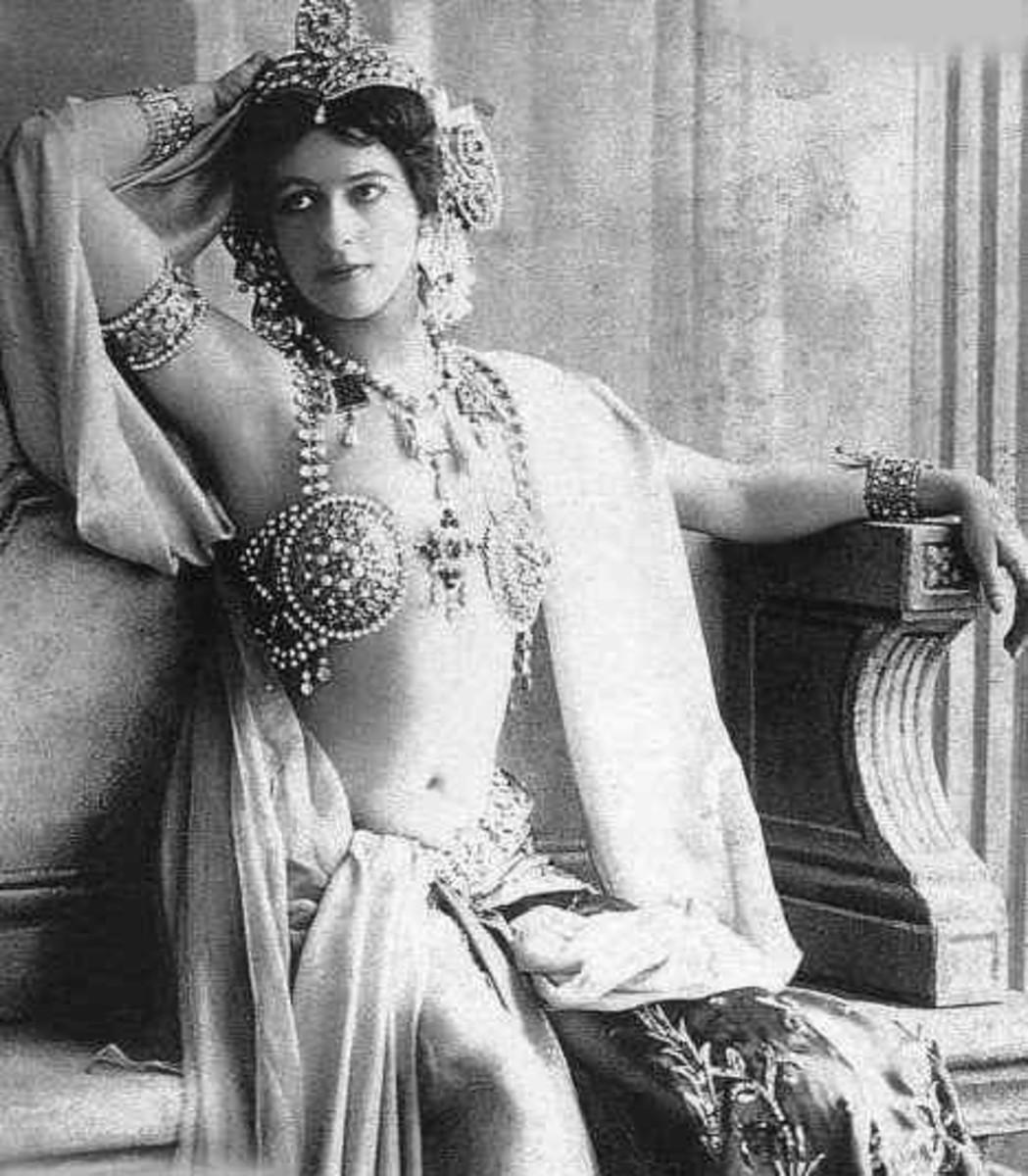 Mata-Hari, Margaretha Geertruida Zelle. Credit: Wikimedia Commons