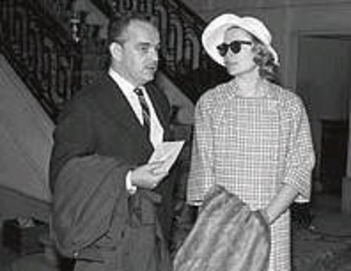 Rainiero and Grace Kelly at the Ritz, 1956. Credit: www.elmundo.com