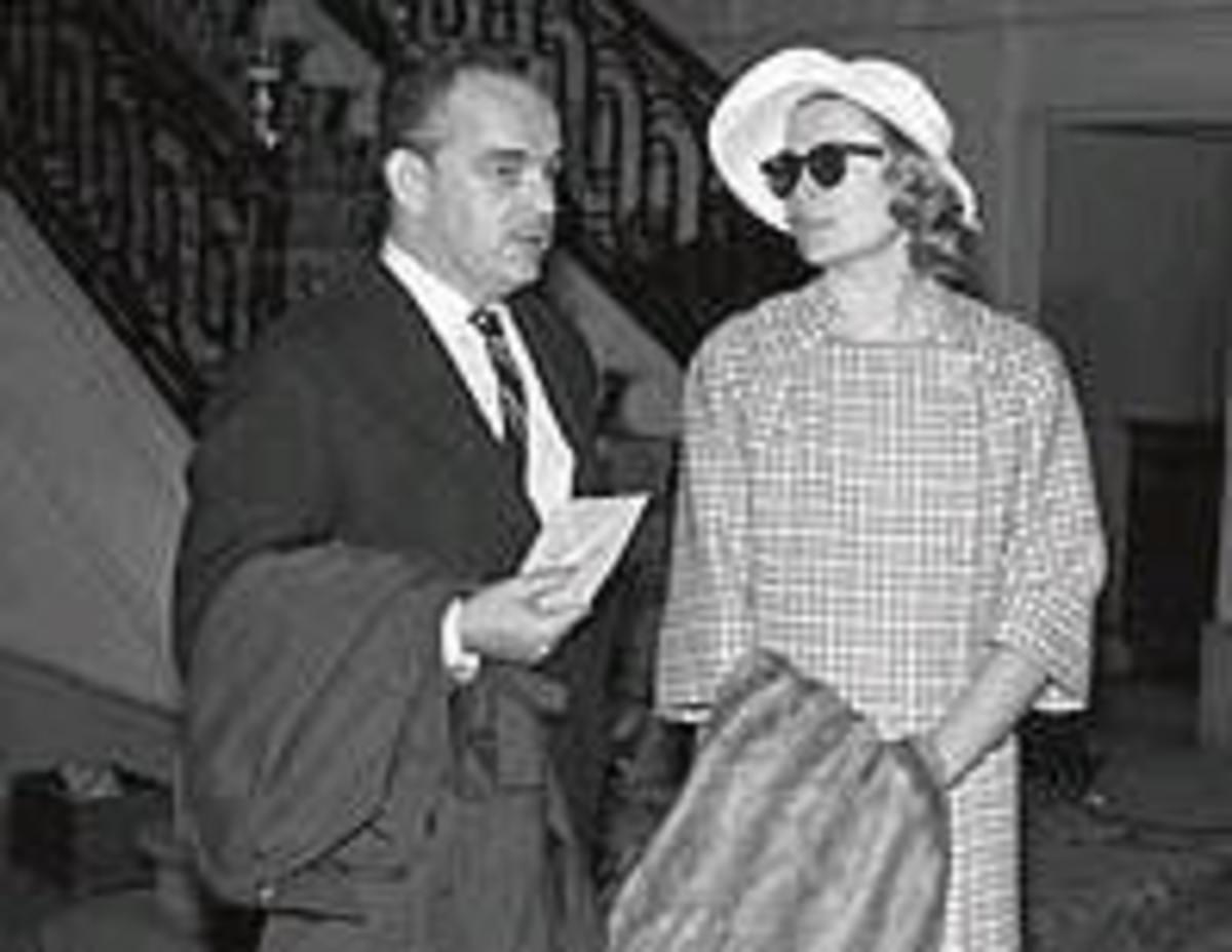 Rainiero and Grace Kelly at the Ritz, 1956. Credit: www.elmundo.com