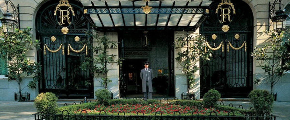 Main door. Credit: Ritz official website